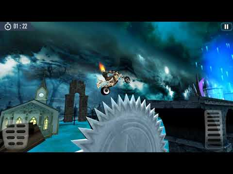 Ghost Riding 3D - Gameplay Android game - 3D bikes riding adventure