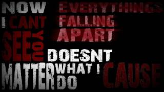 Zebrahead - Falling Apart Lyric Video [Kinetic Typography]