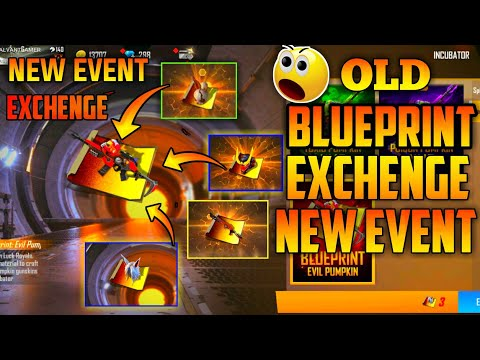 Free Fire all Old Blueprint Exchange Event😱 || Garena Free Fire New event || para SAMSUNG A3,A5,A6