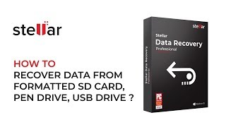 Recover Data From a Formatted SD Card, Pen Drive or USB Drive