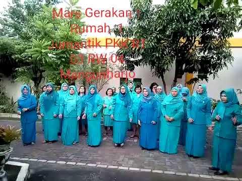 Mars Gerakan 1 Rumah 1 Jumantik PKK RT 03 RW 04 Mangunharjo