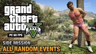 GTA 5 PC - All Random Events