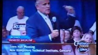 Mayor Rudy Giuliani on Medical Marijuana--July 10, 2007 Thumbnail