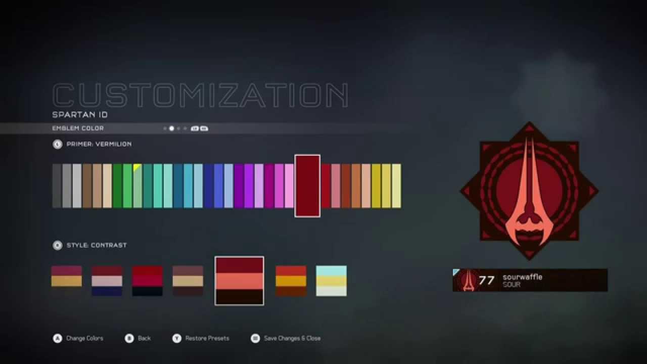 Halo 5 Mastering Covenant Weapons Ultra Rare Emblem Youtube