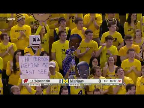 2-16-17 Michigan vs. Wisconsin