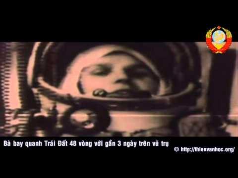 Valentina Tereshkova | Người phụ nữ đầu tiên bay vào vũ trụ | Sairagon 1988