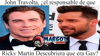 John Travolta, el responsable de que Ricky Martin descubriera que era gay