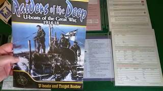 Let's Play - Raiders of the Deep: U-boats of the Great War, 1914-18 (July 1915 Patrol)