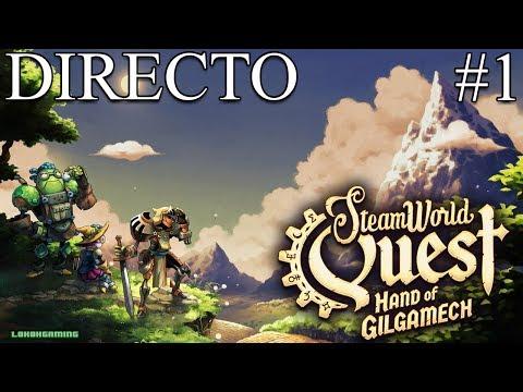 SteamWorld Quest - Directo 1# Español -  Leyenda - Impresiones - Primeros Pasos - Nintendo Switch