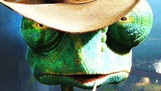 Rango Video Game All Cutscenes | Full Game Movie (PS3, X360, Wii)