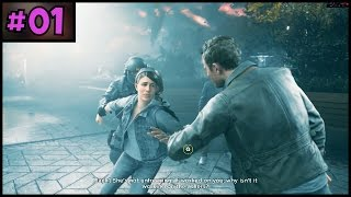 QUANTUM BREAK 100% Complete - Part 1 - PC Gameplay Walkthrough - 1080p 60fps