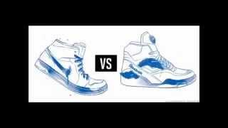 [ENGLISH SUBTITLES] Is this Reebok or Nike?   Esos son Reebok o son Nike  