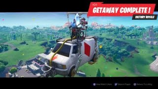 HOW TO WIN IN THE FORTNITE LTM GETAWAY SOLO OR W/TEAM EVERY TIME!! 100%