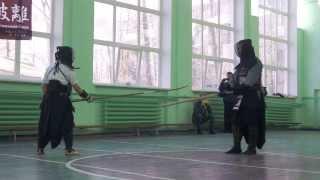Kendo vs Naginata (Sumi M. vs Sumi K.)