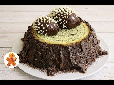 Торт 'Пень' ✧