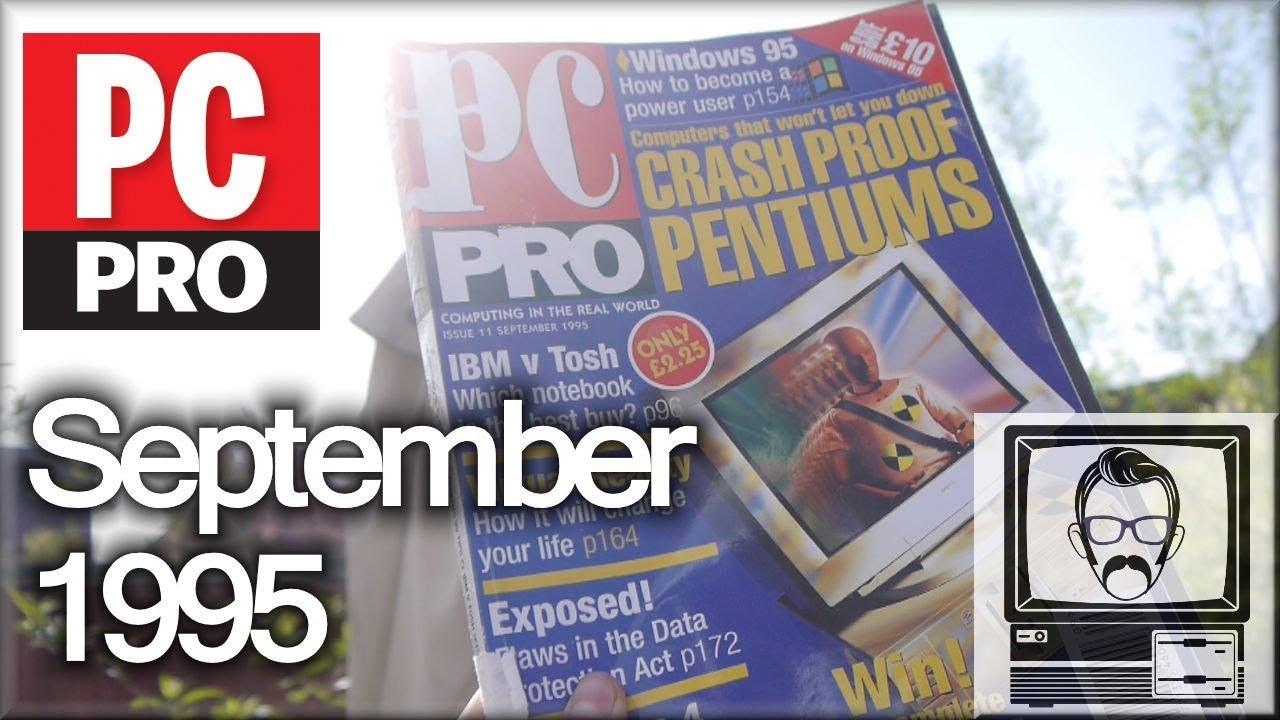 Download 23 Year old PC Magazine - Windows '95 Released!   Nostalgia Nerd