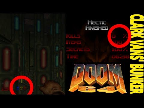 DOOM 64: TRUCO para coger las 3 llaves del level 32 SIN MATAR a los MONSTRUOS by Clark Vans