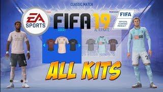 FIFA 19 - All Premier League Teams & Kits
