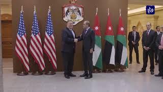 وزير الخارجية يجري مباحثات هاتفية مع نظيره الأمريكي - (17-8-2018)