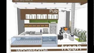 Food Strategy Pulp Juice Bar   Kiosk Designs