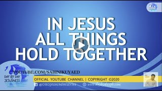 Ed Lapiz - IN JESUS ALL THINGS HOLD TOGETHER🆕Latest Sermon 👉 Review Latest Sermon New Video 👉