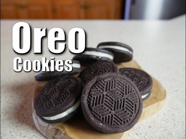 Oreo Cookies   Baking With ChefJohnReed