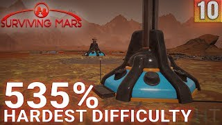 Surviving Mars 535% HARDEST DIFFICULTY - Part 10 - Unmanned Progression - Gameplay (1440p)