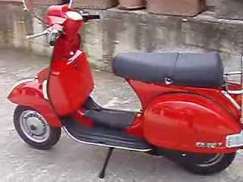 vespa px 200 classic youtube. Black Bedroom Furniture Sets. Home Design Ideas