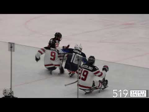 Para Ice Hockey (Exhibition Game) - Team United States Vs Team Canada
