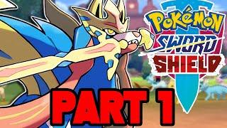 Pokemon Sword and Shield Gameplay Walkthrough Part 1 - FULL GAME (Switch Pokemon Sword Gameplay)