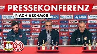 Pressekonferenz nach Leverkusen | #B04M05 | 05er.tv