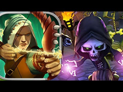 Skull towers Castle defense android gameplay