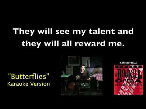 Butterflies Karaoke Video from A Roadkill Opera