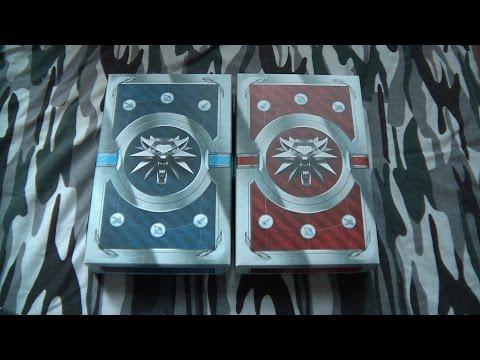 Мини обзор на колоды карт для Гвинта. Ведьмак 3. Дикая Охота.