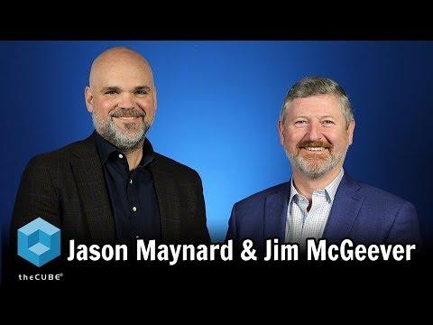 Jason Maynard & Jim McGeever, NetSuite   CUBEConversation, April 2018