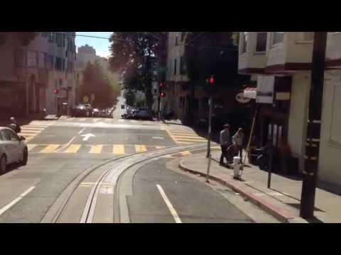 Un paseo en el tranvía de San Francisco
