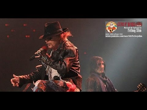 Guns N' Roses GNR - Paradise City ( Climax 2 ) live in Jakarta Indonesia 2012 Mp3