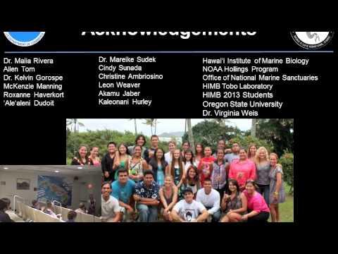 Summer Intern Symposium 2013 (PIFSC & JIMAR) in Honolulu