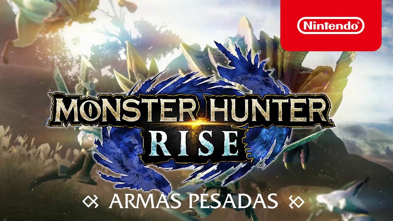 MONSTER HUNTER RISE – Armas pesadas (Nintendo Switch)
