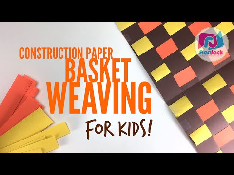 How to basket weave with construction paper youtube how to basket weave with construction paper maxwellsz