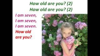 Урок 9.  Сколько тебе лет?.  К видео прилагается интерактивный тренажёр