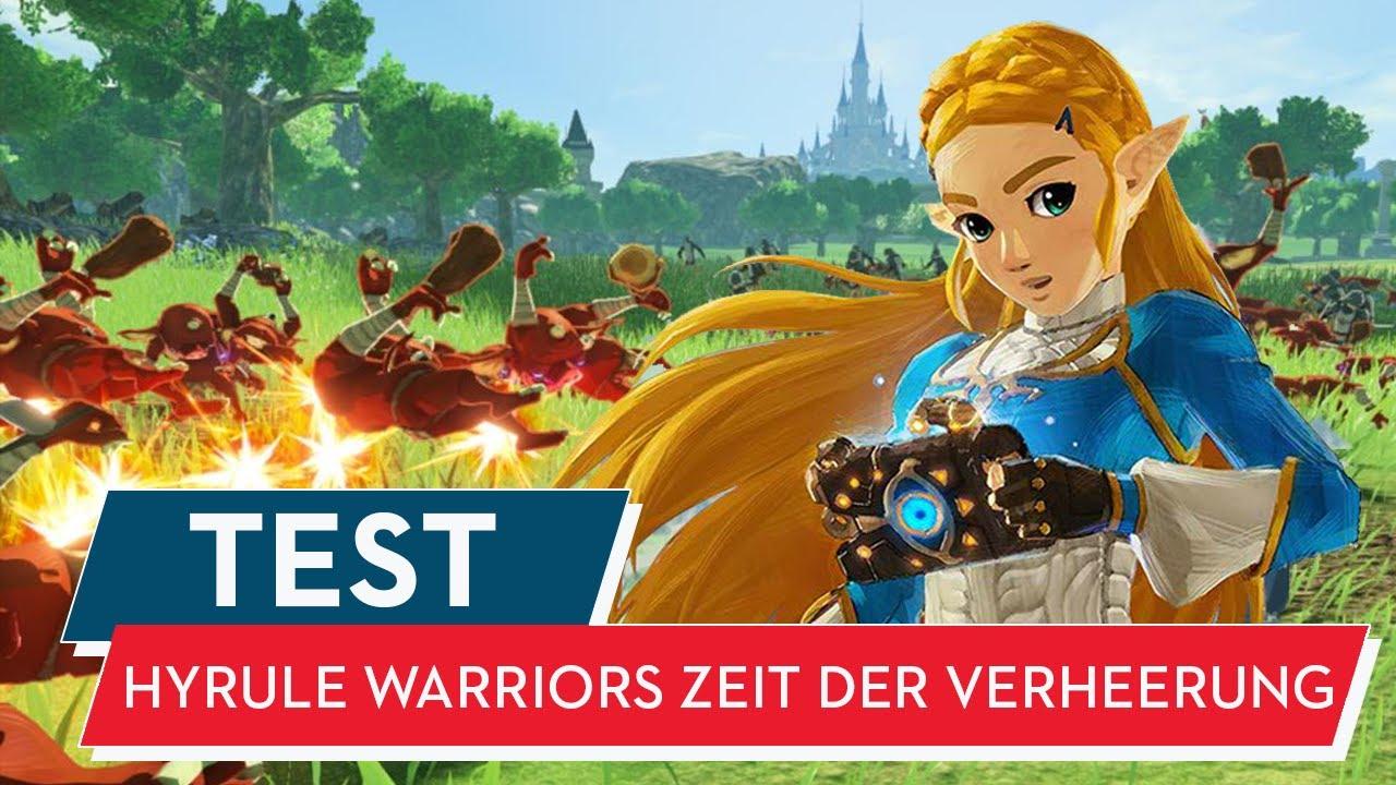 Hyrule Warriors Zeit Der Verheerung Test Review Massenschlachten Fur Zelda Fans Youtube
