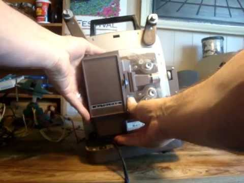 Fix a Bell and Howell Movie Projector Bulb for $5