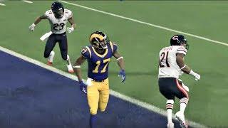 NFL Sunday Night Football 11/17 Los Angeles Rams vs Chicago Bears Full Game Week 11 - Madden 20