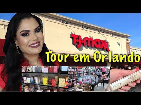 COMPRAS NA LOJA TJ MAXX - ORLANDO | FLORIDA