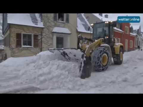 wetteronline.de: Erzgebirge versinkt im Schnee (08.01.2017)