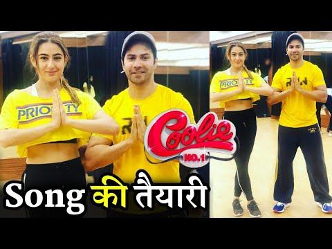 Coolie No.1 Song Varun Dhawan and Sara Ali Khan Dance Rehearsal With Ganesh Acharya Mp3