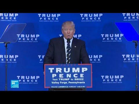 ترامب يوضح أنه نسي أن يستعمل صيغة النفي في جملة له ويتنصل من تصريحاته  - نشر قبل 2 ساعة