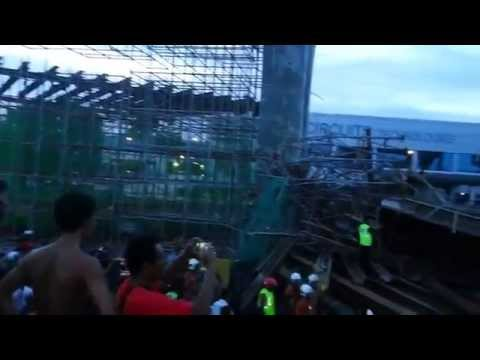 Second Penang Bridge destroyed??