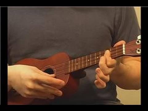 Playing Ukulele Chords Ukulele Chords C D Minor Youtube